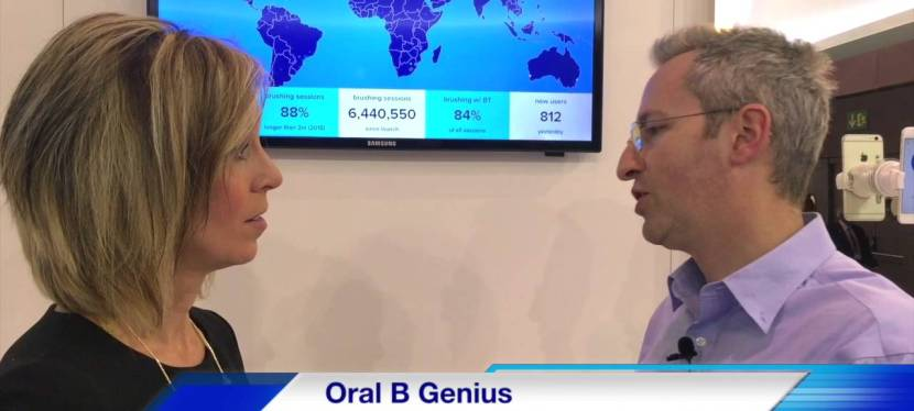Mobile World Congress 2016 Oral-B Genius Technology Unveiled
