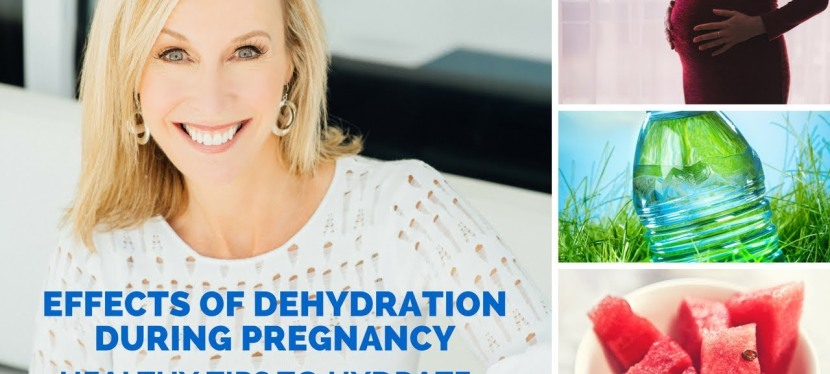 Effects of Dehydration During Pregnancy | Healthy Tips To Hydrate